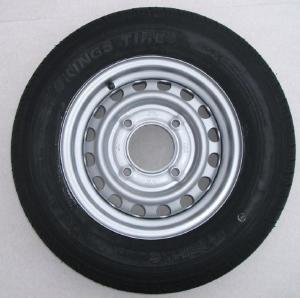 165 x 13 Wheel and Tyre